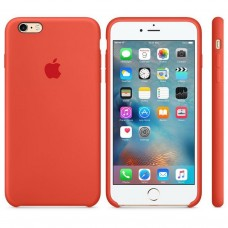Чехол силиконовый Apple Silicone Case Spicy Orange для iPhone 6/6S Plus